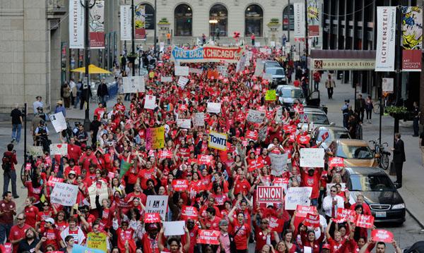 Będzie Strajk Generalny Chicagowskich Nauczycieli