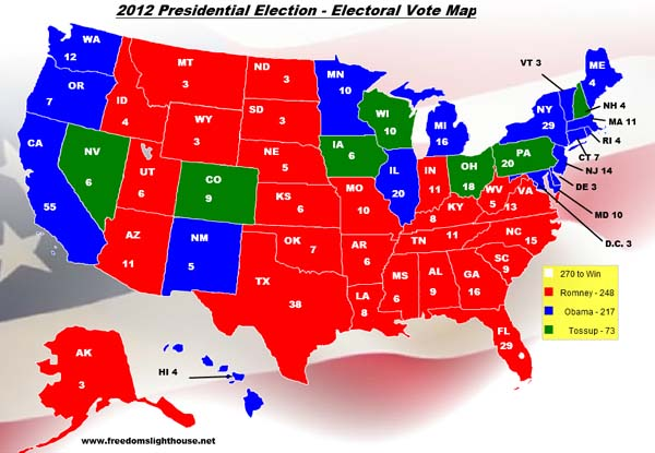 presidential election projection