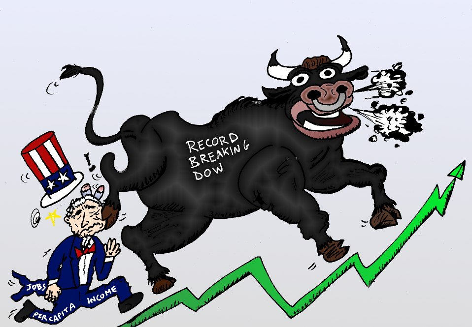w11binary-options-news-comic-djia-bull-trampling-uncle-sam-job-revenues